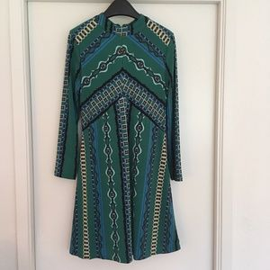 Free People - Patterned Mini Dress
